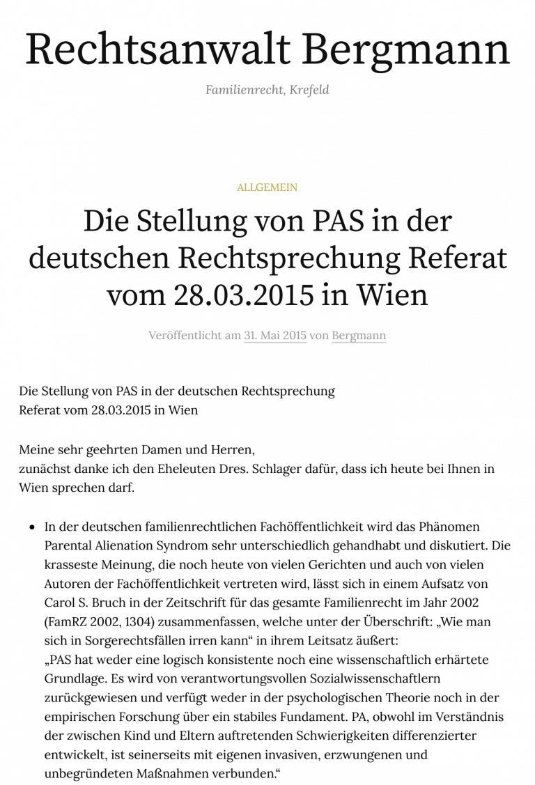 stellung-von-pas-rechtssprechung-ra-bergmann